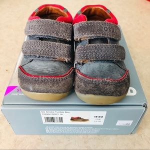 Baby Bobux Suede Walking Shoes Size 2.5